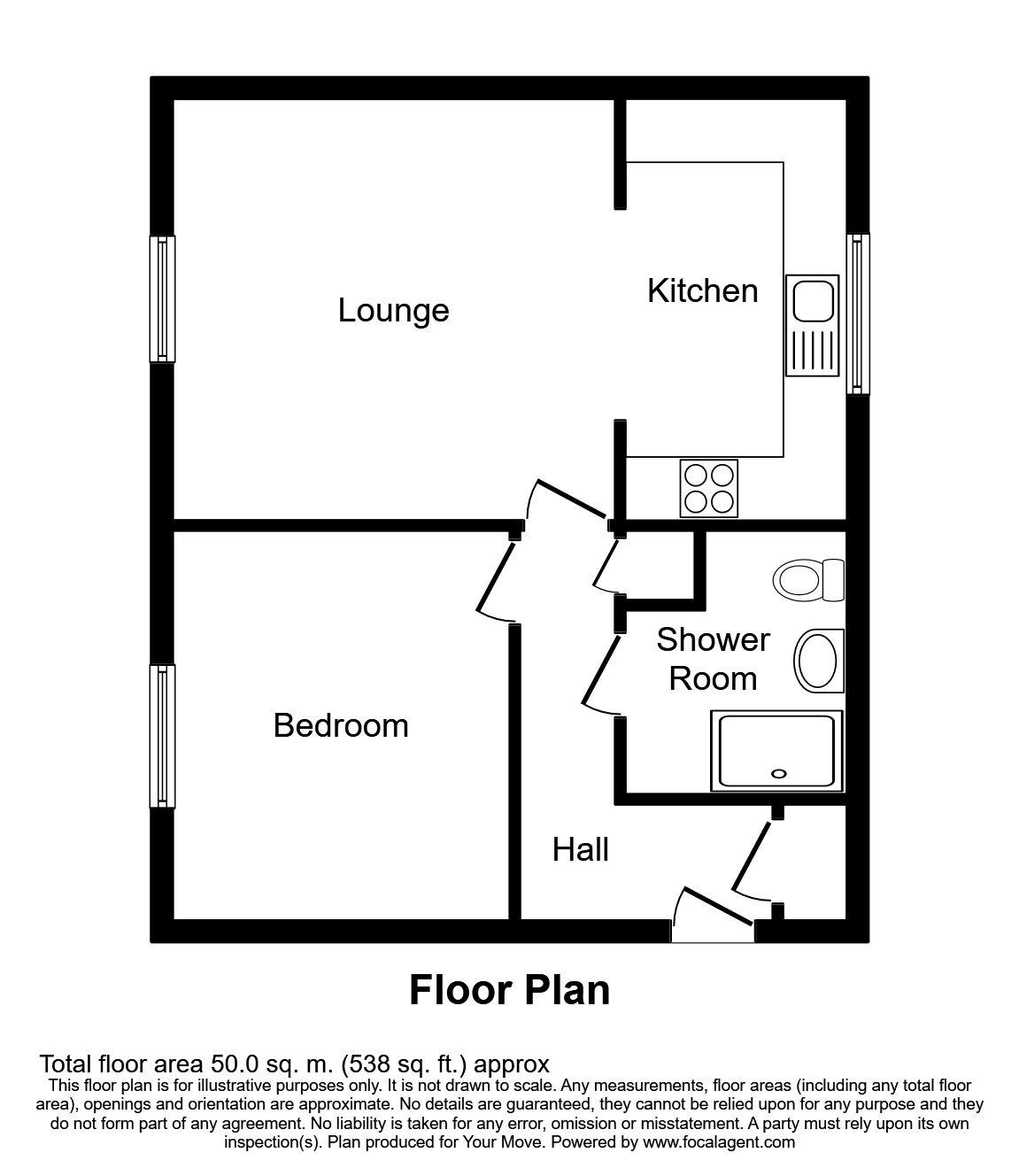 1 Bedroom Flats For Sale In Me13 9  Boughton