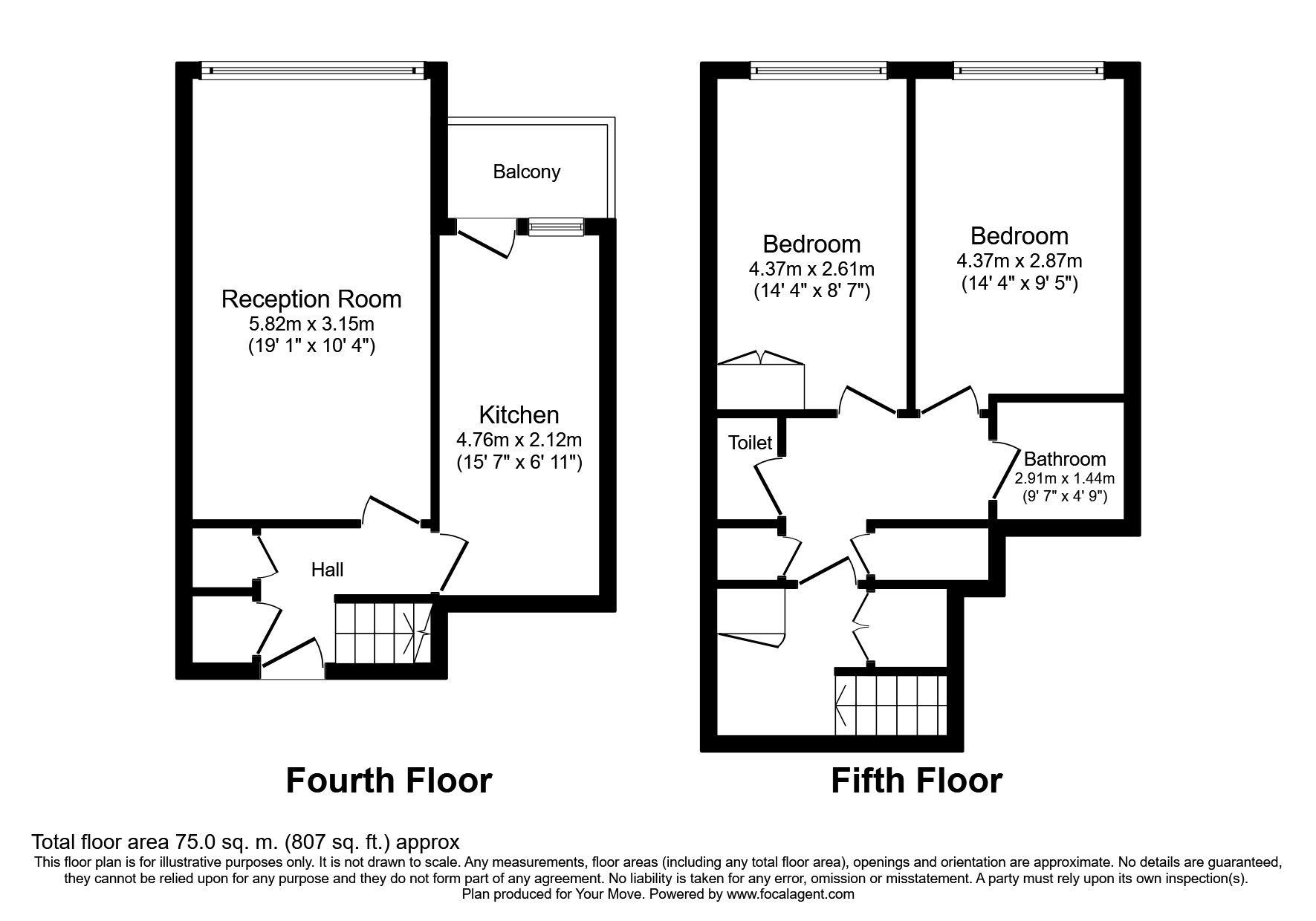 2 bedroom flats to rent in London - Your Move