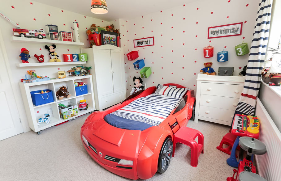 Storage to keep your child's room tidy