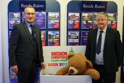 Reeds Rains Nantwich supports Cash for Kids