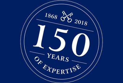 We're celebrating 150 years!