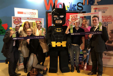We went along to the Cash for Kids' Superhero Day launch event