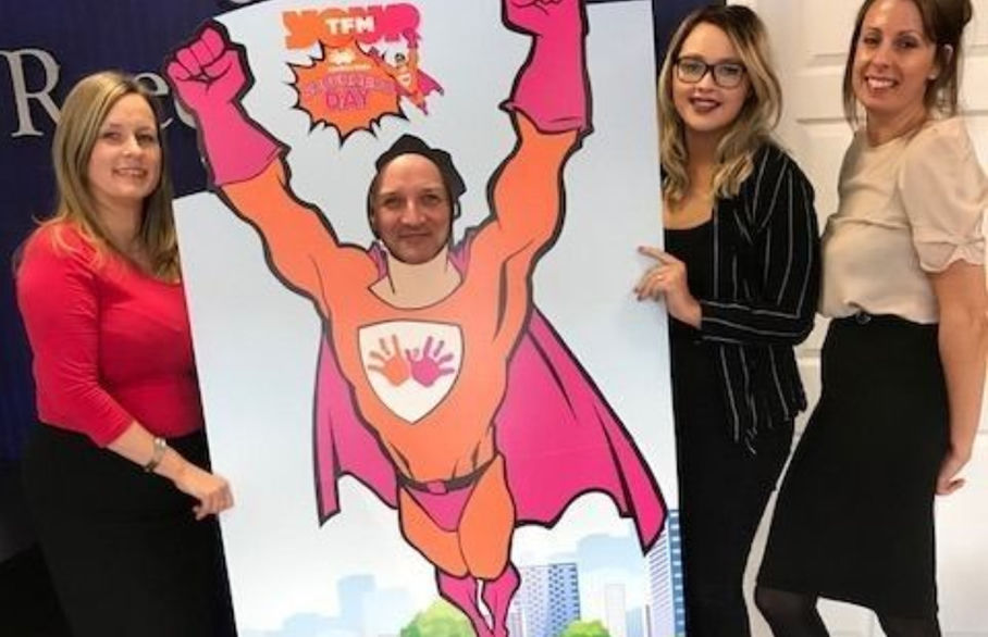 Teesside superheroes to walk marathon distance for Cash for Kids