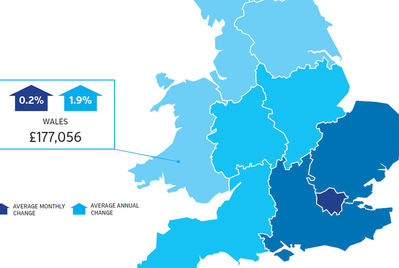 Monmouthshire house prices are up 10.9% annually