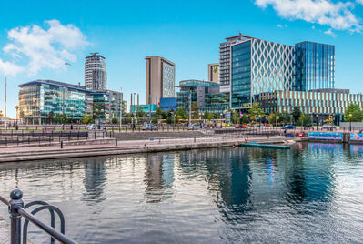 Salford quays media city