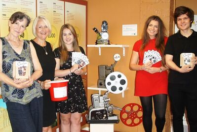 Curzon postcards fund raising