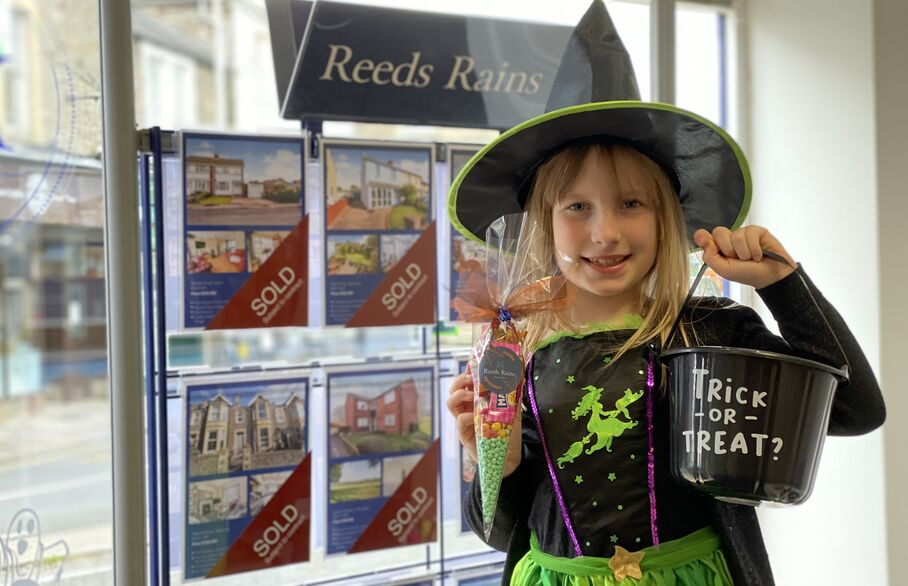 Portishead and Clevedon branches show off special Halloween displays