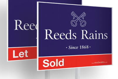 Reeds Rains For Sale and To Let Boards