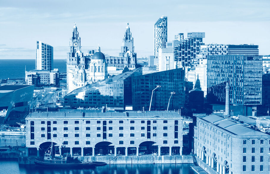 Picture of Liverpool docks