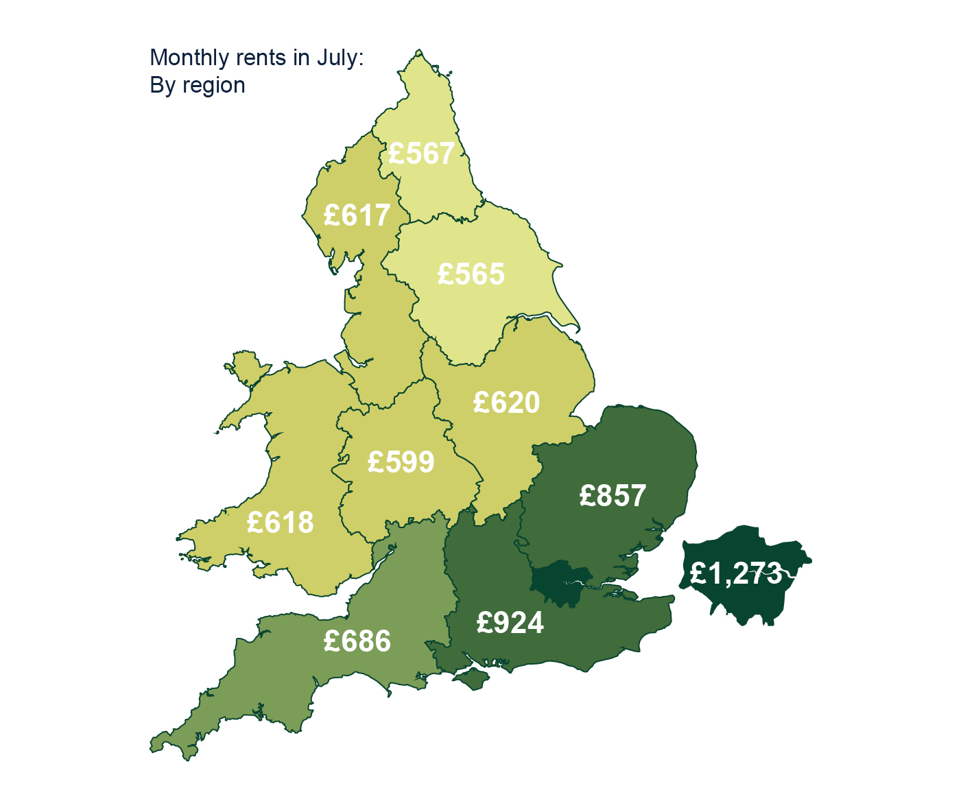 Buy to Let - August Map