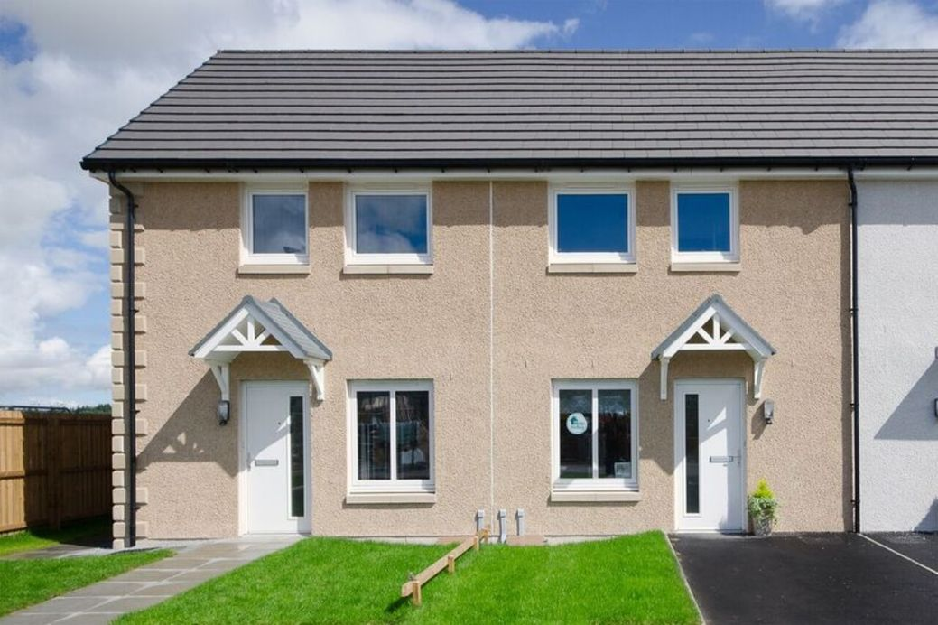 New build property in Keith