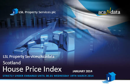January 2014 Scottish House Price Index
