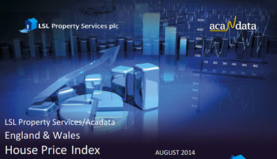 August 2014 House Price Index