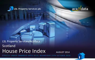 August 2014 Scottish House Price Index