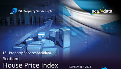 September 2014 Scottish House Price Index
