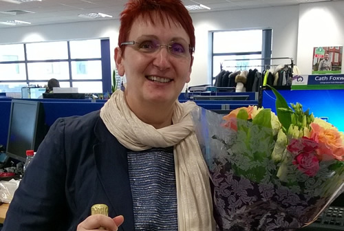 Cath Foxwell, Lettings Hub Manager, Celebrates 15 Years with Your Move