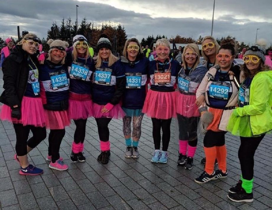 Scotland branches take part in exciting Supernova fundraising event